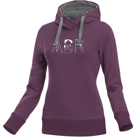 ABK Base Hoodie Damer, very grape